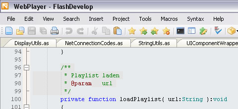 AS3 Code Libraries